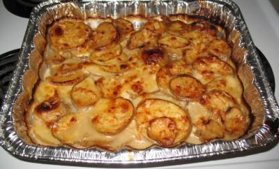 Zapečeni krompir s biljem