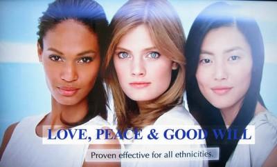 LOVE, PEACE & GOODWILL