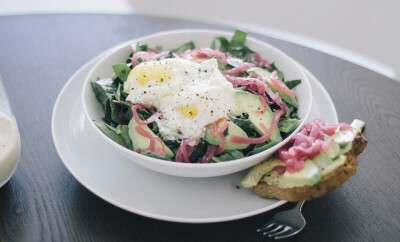 Egg Breakfast Salad