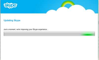 Updating Skype